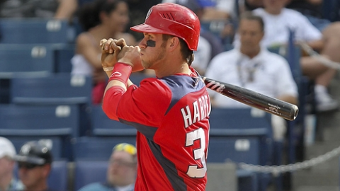 Bryce Harper had a .556 slugging percentage in the Grapefruit League.