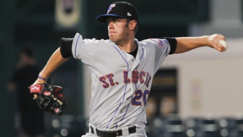 Darin Gorski struck out a career-high 140 batters for St. Lucie in 2011.