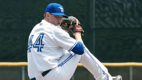 Left-hander Egan Smith was Toronto's seventh-round selection in the 2009 MLB Draft.