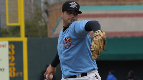 James Avery improved to 4-1 with a 1.72 ERA in five starts for the SeaWolves.