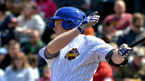 Paul Hoilman is batting .353 (30-for-85) during his hitting streak.