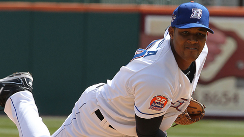 Jeurys Familia is 3-1 with a 4.41 ERA in seven starts for Buffalo.