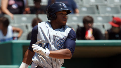 Jonathan Singleton leads the Texas League with 33 runs scored.