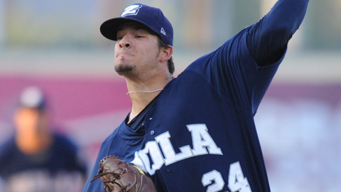 Brad Hand ranks ninth in the Pacific Coast League with a 3.43 ERA.