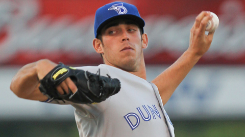 Sean Nolin is 5-0 with a 2.25 ERA in 10 starts for Dunedin.
