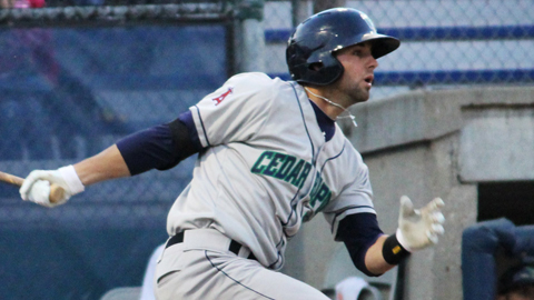 Kaleb Cowart leads the Midwest League with 44 RBIs in 52 games.