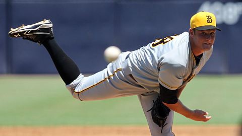 Gerrit Cole was 5-1 with a 2.55 ERA in 10 starts for Bradenton.